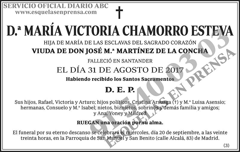 María Victoria Chamorro Esteva